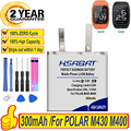 Топ-бренд 100% новый аккумулятор 300 мАч для POLAR M430 M400 GPS спортивные часы батареи + Бесплатные инструменты