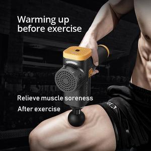 Image 3 - Phoenix estimulador muscular massagem arma vibratória profunda terapia relaxamento fascia fitness exercício alívio da dor massageador elétrico