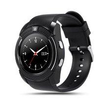 Smart Watch Men with Camera Bluetooth Smartwatch Pedometer Heart Rate Monitor Sim Card Wristwatch sports smart watch цена и фото