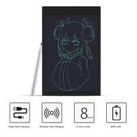 DZ0073 8 inch Electronic Digital Tablet Wireless Fast Charger LCD Writing Pad Painting Drawing Graffiti Toys for Children Gifts