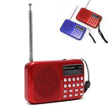 Mini LCD Digital Audio FM Radio USB Micro SD TF Karte Lautsprecher MP3 Musik Player