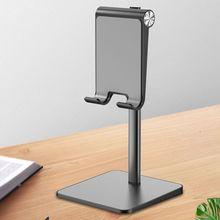 High Quality Universal Metal Desktop Tablet Mount Bracket Telescopic Cellphone Stand Holder Adjustable Angle