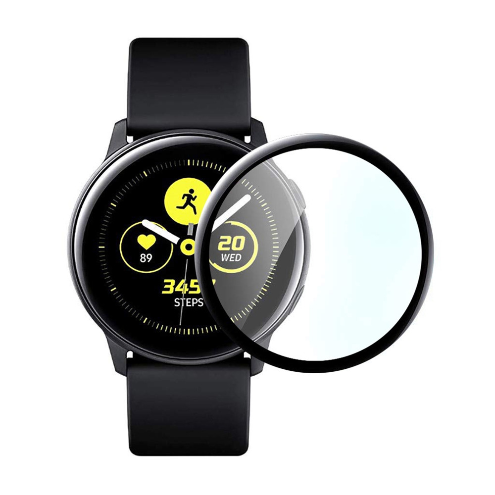 9H Full Cover Coverage Screen Protective For Samsung Galaxy Watch Active 2 40mm 44mm Tempered Glass Glass For Samsung Active 2