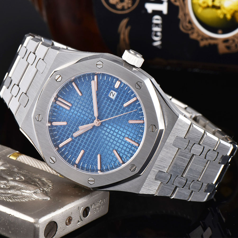 watch men automatic mechanical watch date Luminous waterproof 316L Solid stainless steel 41MM LM66