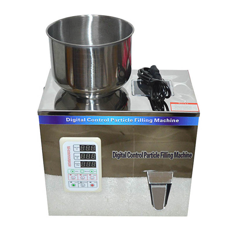 1-50g Granule Bag Tea Packaging Machine,Tablet Packing Machine,Weighing Machine Digital Control Particle Filling Machine110/220v