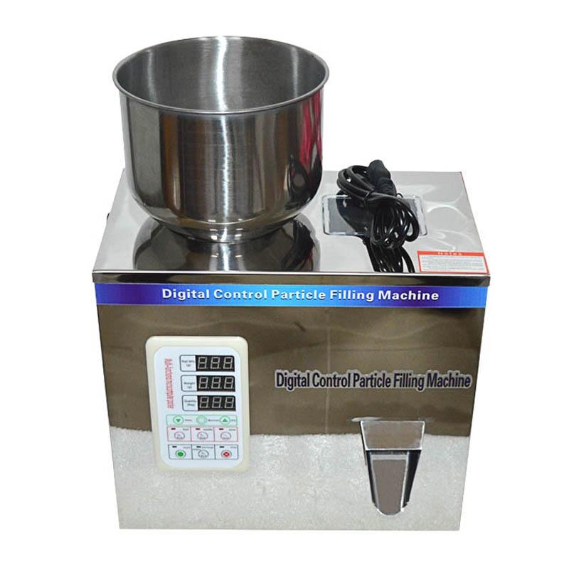 1-50g Granule Bag Tea Packaging Machine,Tablet Packing Machine,Weighing Machine Digital Control Particle Filling Machine110/220v