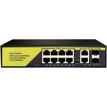 52v-poe-gigabit-switch-10-100-1000mbps-8-ports-poe2-uplinks2-802-3-af-at-ethernet-network-for-ip-camera-wireless-ap-poe-camera