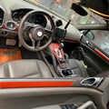 車のスタイリング 3D 5D 炭素繊維車のインテリアセンターコンソール色変更成形ポルシェカイエンのため 2010 -2016
