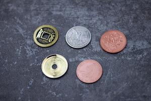Image 2 - 銅シルバー真鍮移調手品魔法の小道具メンタルマジッククローズアップストリート Magia のおもちゃ、ギミック