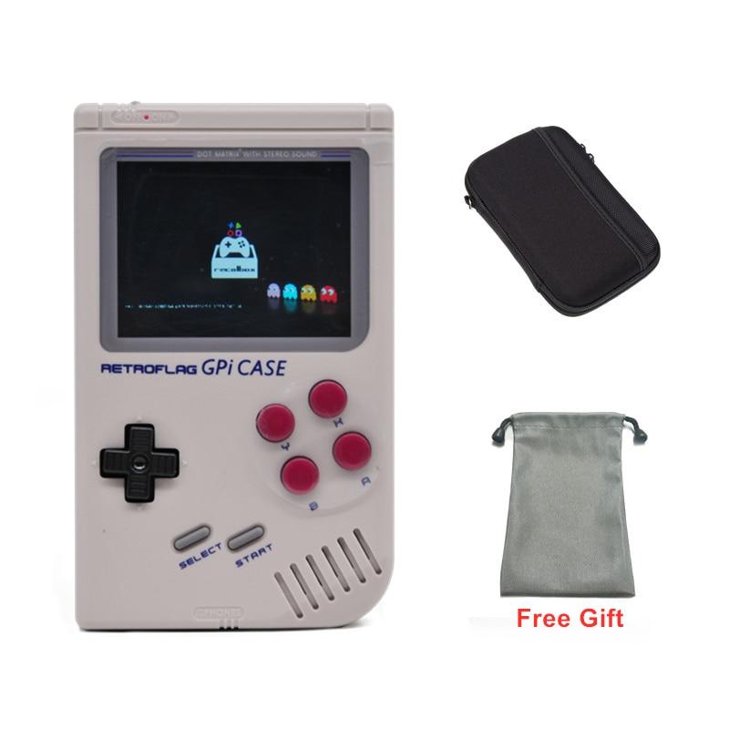 In Stock! 2019 Retroflag GPi CASE For Raspberry Pi Zero Or Zero W With Safe Shutdown GPI Case Supports Pre-install 8000 Games