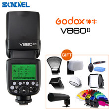 Godox – batterie Li-ion Ving V860II S C N F TTL HSS 1/8000 TTL, Flash TTL pour Olympus Panasonic Sony Canon Nikon