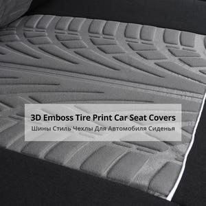 Image 4 - AUTOYOUTH غطاء مقعد السيارة الرياضية، قياس عالمي يناسب معظم الماركات, حماية المقاعد، ملحقات تصميم داخلي، غطاء مقعد أسود