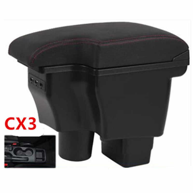 Dành Cho Xe Mazda CX-3 CX 3 CX3 Tay Hộp Giao Diện Sạc USB