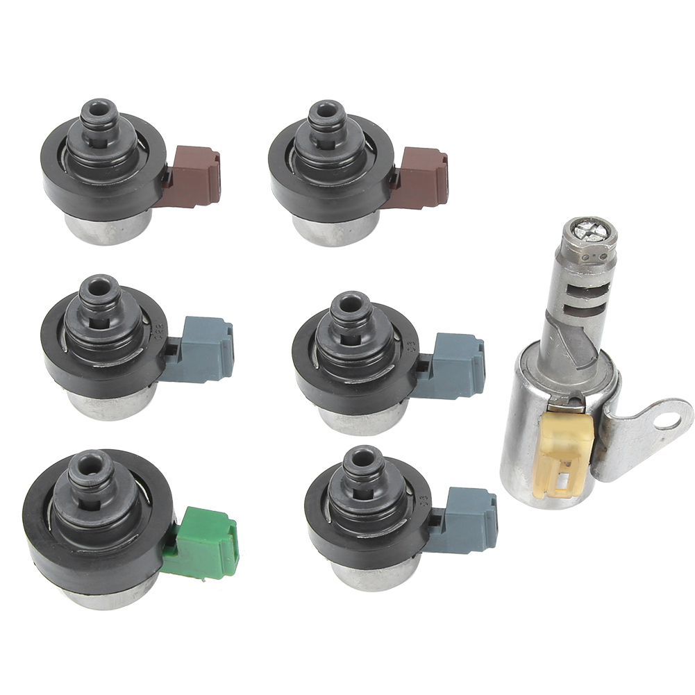 7Pcs/Set Automatic Transmission Shift Solenoid 31705AA440 31705AA441 31705AA4419L 4EAT For Subaru Forester For Outback 2001-2010