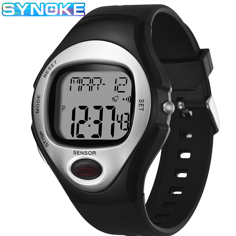 SYNOKE Men Digital Watches Sports Fashion Calorie Counter Sleep Monitoring Waterproof  LED Students Watches Relogio Masculino