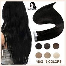 Extensions de cheveux humains blonds 100% Remy, bande adhésive pour trame de cheveux humains, haute qualité