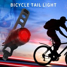 New Bicycle Red LED Bike Rear warning Light 3 modes Waterproof bike Tail light Lamp Outdoor Top quality цена 2017
