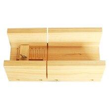 Точный скошенный Многофункциональный рубанок ручной работы Инструменты Свеча для каравая делая Регулируемый аппарат со шкалой деревянный ящик нож для мыла