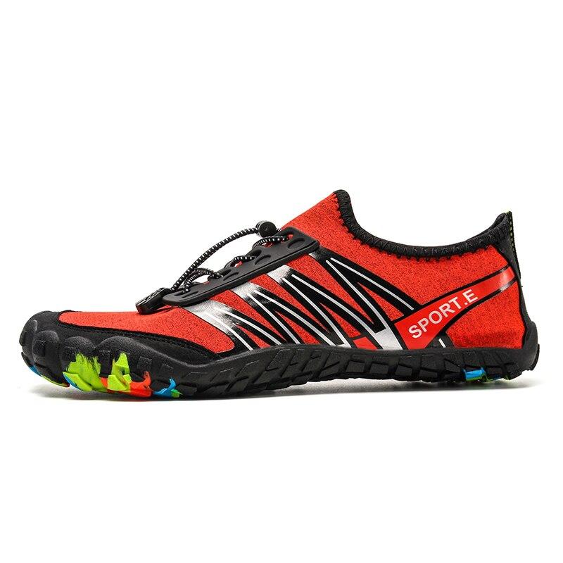 Обувь Aqua для мужчин, мужская пляжная обувь для женщин и мужчин, дышащая Спортивная обувь для пеших прогулок, быстросохнущие кроссовки для ре...