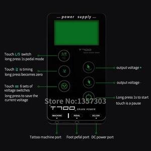 Image 3 - Alimentation électrique pour machine à tatouer, écran tactile, écran tactile, écran tactile, écran tactile LCD, T700