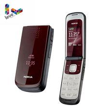 Разблокированный телефон Nokia 2720 Fold Поддержка Русская и арабская клавиатура самый дешевый разблокированный мобильный телефон