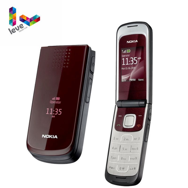 Original Unlocked Nokia 2720 Fold Support Russian&Arabic Keyboard Free Shipping Cheapest Original Unlocked Cell Phone