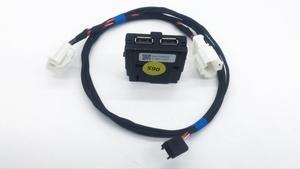 Image 4 - Hinten Sitz USB Buchse Armerst USB mit Verdrahtung für VW Tiguan MK2 Teramont Atlas für Skoda MQB Octavia Superb Kodiaq 5QD 035 726 L