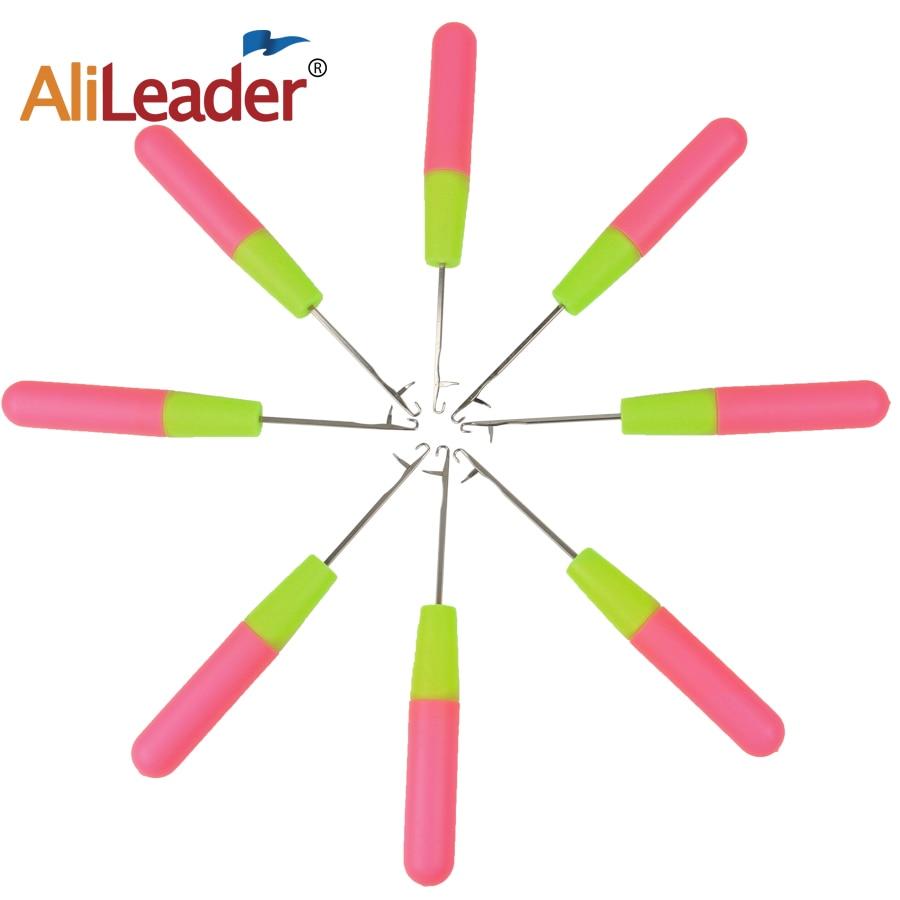 Заводские продажи 1 шт 15 см розовый и лимонный цвет пластиковые маркеры для вязания на спицах крючком крюковые иглы для Джамбо плетеных воло...