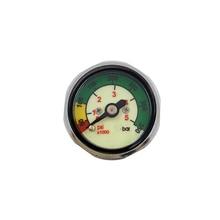Scuba Diving Pony Bottle Pressure Gauge 1 inch Face 300 BAR/5000 PSI 7/16-20UNF Threads цена