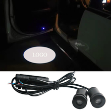 Car Styling For Mercedes Ben Logo Projector 3D Shadow Door Light Welcome Interior Lighting Ambient Atmosphere Lamp