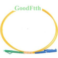 Fiber Patchkabel LC/APC E2000/UPC SM Simplex GoodFtth 1 15m