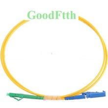 Волоконные патч корды LC/APC E2000/UPC SM Simplex GoodFtth 1 15m