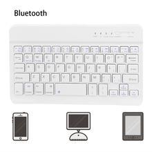 FENIORES für ipad 2019 tastatur mini Slim Drahtlose Bluetooth Tastatur Für iMac ipad Telefon Laptop Tablet PC tastatur für tablet