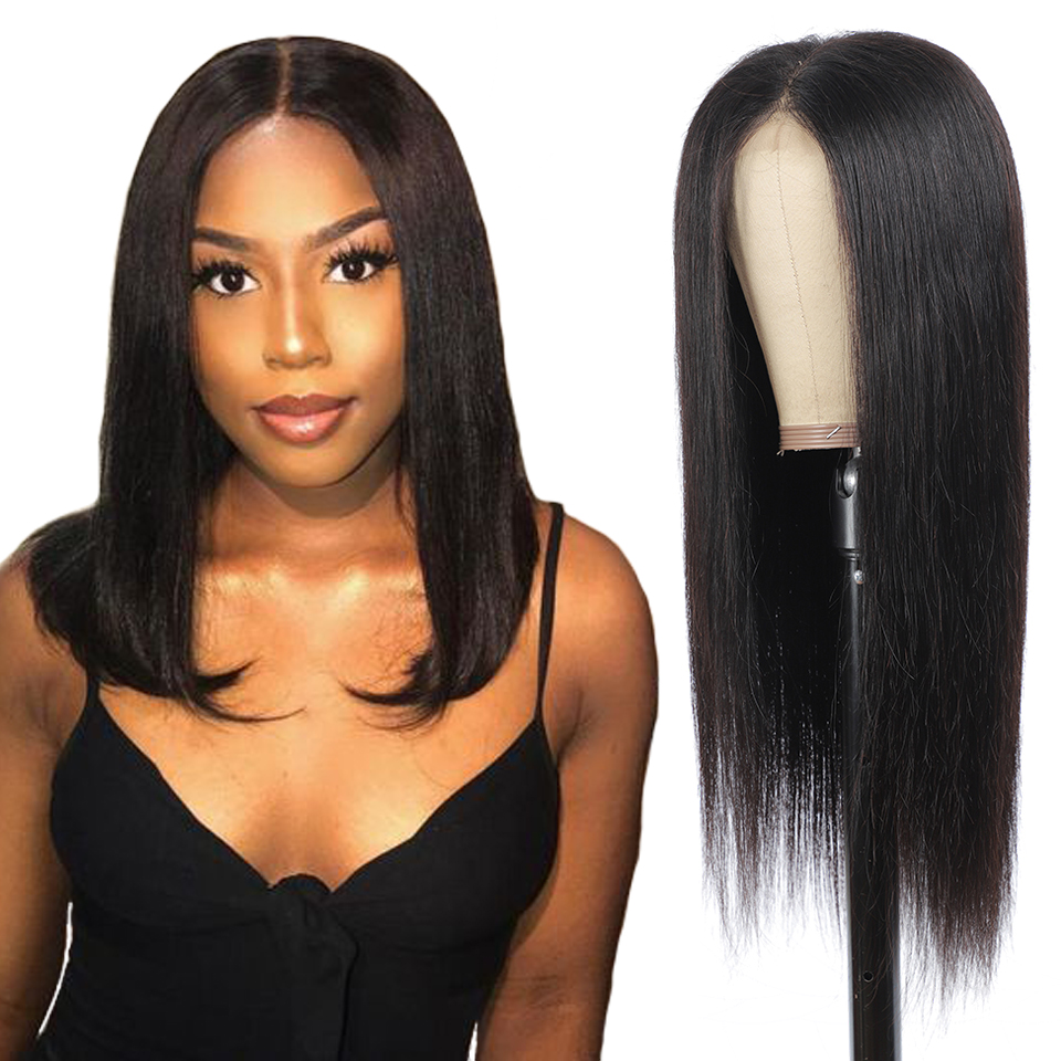 13x4/4x4 Straight Lace Front  Wigs 4x4 Lace Frontal Wigs    Lace Wigs for Women 180 Density 2