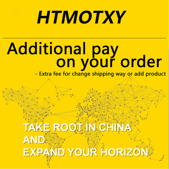 HTMOTXY Additional pay on your order ( Use for change shipping way / add product / change product ) image
