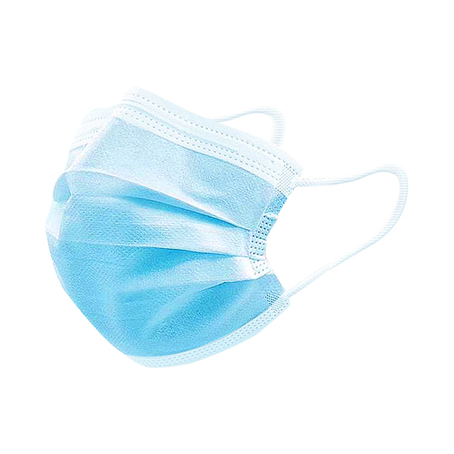 50 Pcs 3 Layer Disposable Protective Face Mouth Mask Flu FFP2 Influenza Bacterial Facial Dust-Proof Safety Mask 2