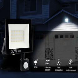 Светодиодный светильник 10 Вт 20 Вт 30 Вт 50 Вт AC220V прожектор светильник s лампа IP66 водонепроницаемый проектор открытый сад спортивный светильн...