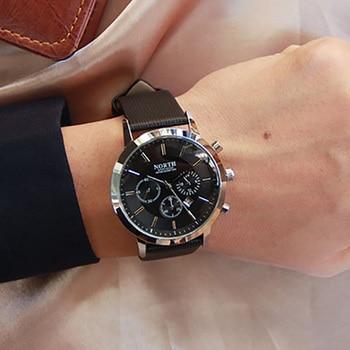 Ō�ブランドファッション黒人男性クラシックカジュアルカレンダークォーツ男ビジネスカジュアルスポーツ時計ユニークなメンズギフト腕時計