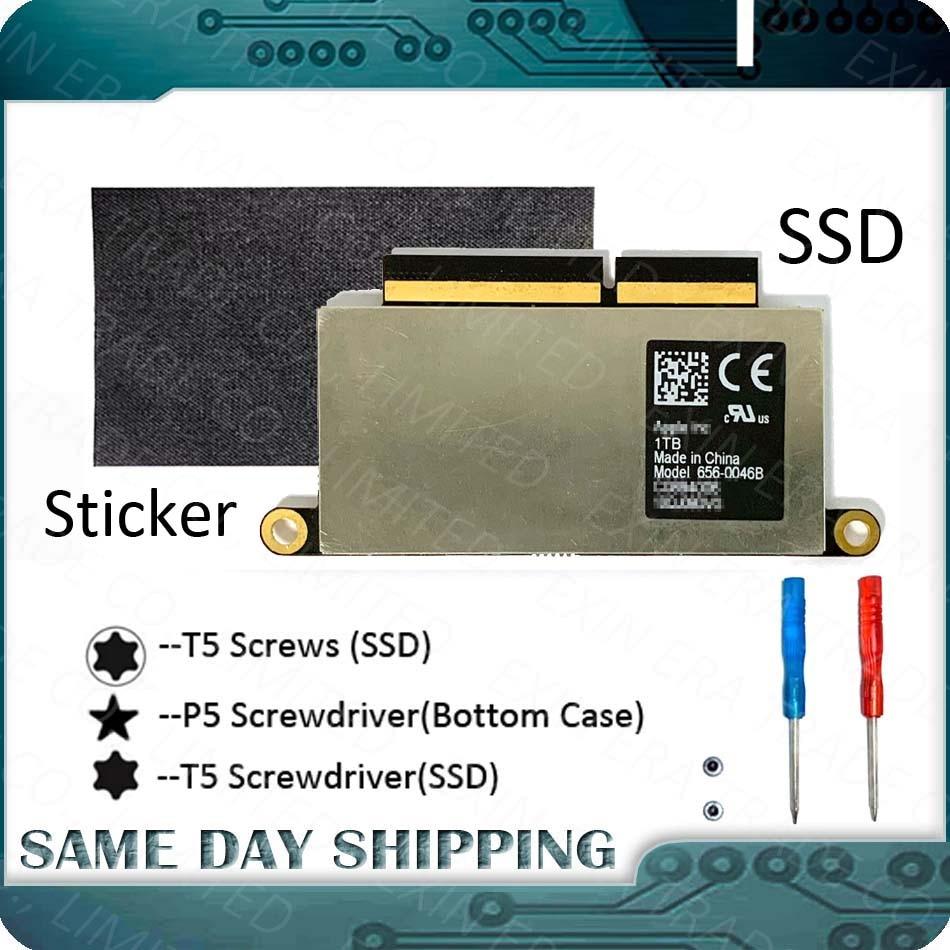 Замена SSD ноутбука, A1708 128 ГБ 256 512 1 ТБ для MacBook Pro Retina 13,3