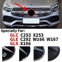Badge de calandre avant avec Logo emblème, pour Mercedes Benz GLC X253 C253 GLE W166 C292 W167 GLS X166 2015 – 2020, accessoires