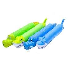 Лето Новые 33 см милые водные пистолеты Акула крокодил белка игрушки для детей бластер открытый плавательный бассейн игры детские подарки