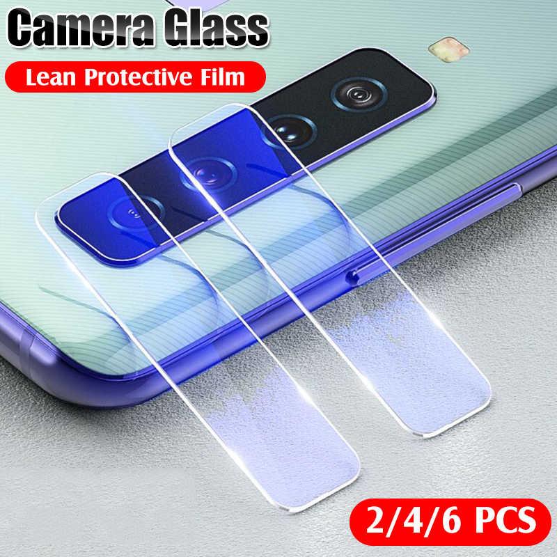6 pçs câmera protetora capa de vidro temperado para samsung galaxy s10 s8 s9 plus s10e nota 8 9 10 pro lente protetor filme vidro