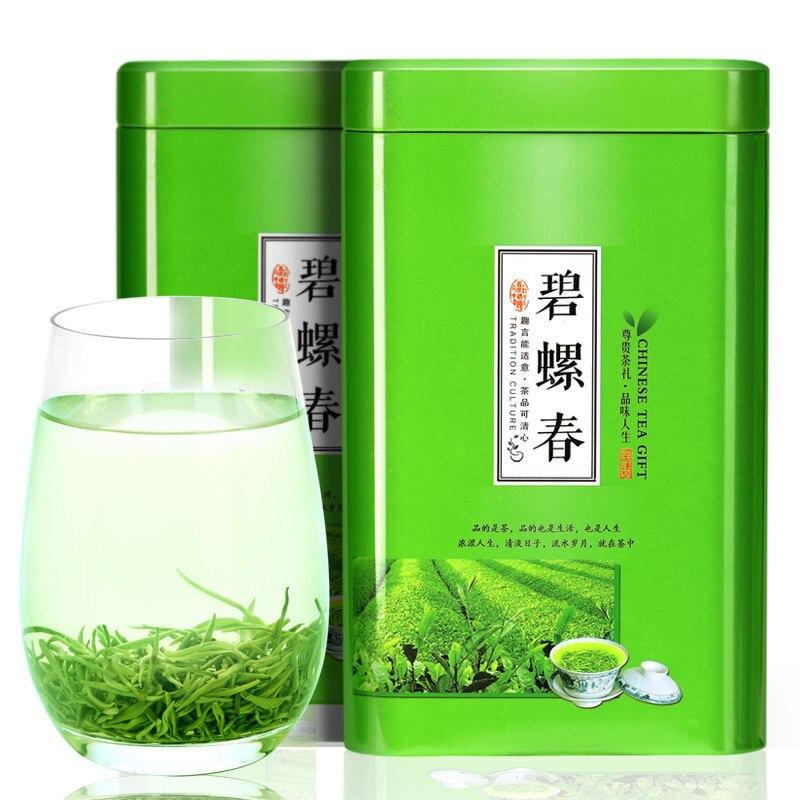 Autêntico biluochun chá 2020 novo chá nuvem e nevoeiro montanha biluochun chá verde antes da chuva chá da primavera forte fragrância