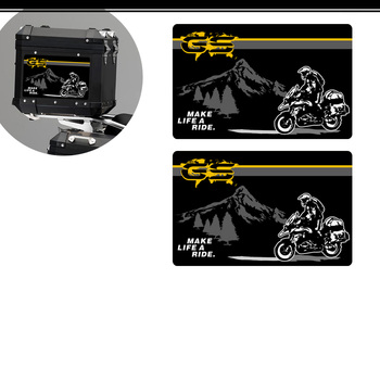 2019 Trunk Luggage Aluminum Cases Stickers Decal For BMW R 1200 1250 GS GSA R1250GS R1200GS F850GS F750GS G310GS F 310 850 R1250 image