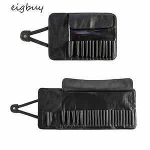[SH] Профессиональный 12/24 Слот держатель для кистей для макияжа косметический Органайзер сумка для катания чехол контейнерный мешочек сумки