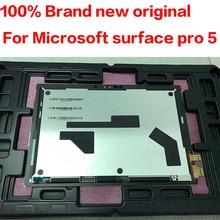 Microsoft surface pro5 pro 5 모델 1796 LP123WQ1 lcd 디스플레이 터치 스크린 유리 센서 디지타이저 태블릿 어셈블리