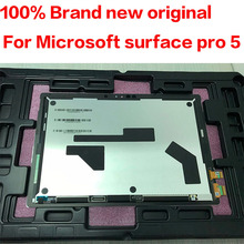 Original For Microsoft surface pro5 pro 5 Model 1796 LP123WQ1 lcd display touch screen glass sensor digitizer tablet assembly