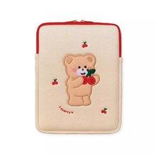 Новая Корейская сумка для ноутбука с изображением медведя вишни