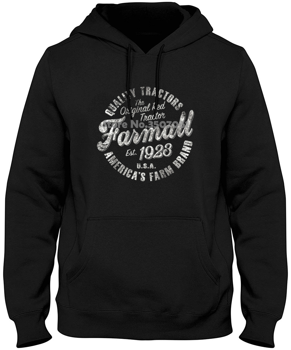 Country Casuals Farmall Circle - Adult Short SleeveMen Short Sleeve Long Sleeve Round Neck Hoodies & Sweatshirts