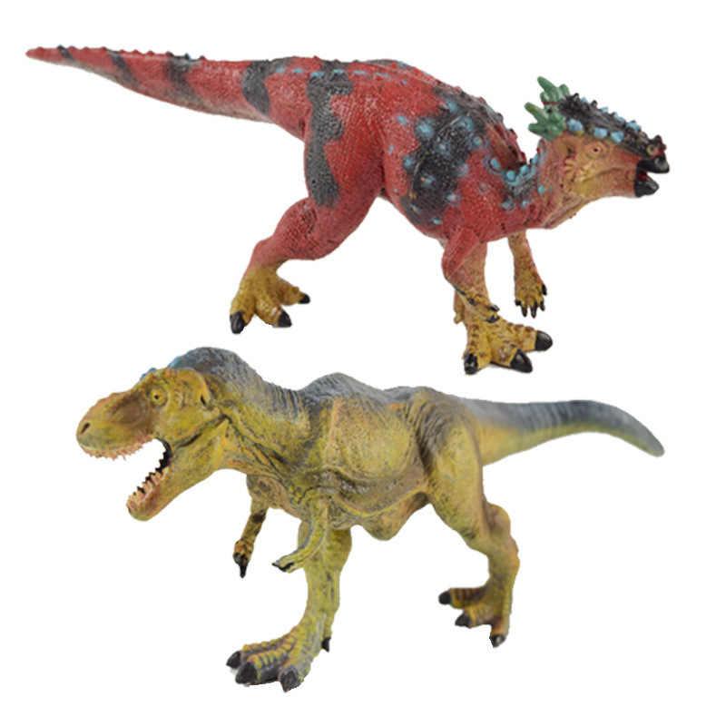 Nieuwe Producten Jurassic Gesimuleerde Dinosaurus Modellen Speelgoed Plastic T-Rex Stegosaurus Triceratops KINDEREN Speelgoed Gift